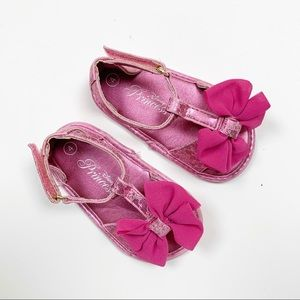 Baby Pink Sandals with Bow